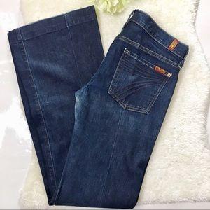 7 FAM Dojo Jeans Size 28 x 34